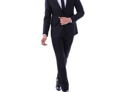 Photo of Wessi Suits, Shirts + Jackets Adrial 2-Piece Slim Suit // Black (Euro: 44) by Touch Of Modern