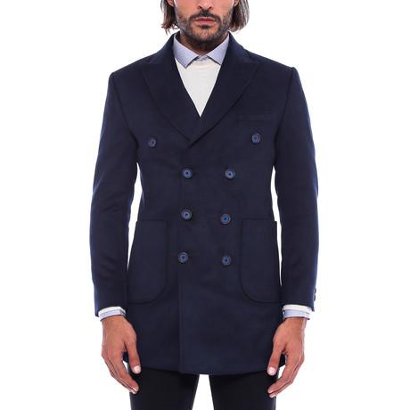 Frank Slimfit Coat // Navy (Euro: 44)