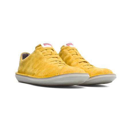 Beetle Sneaker // Medium Yellow (Euro: 39)