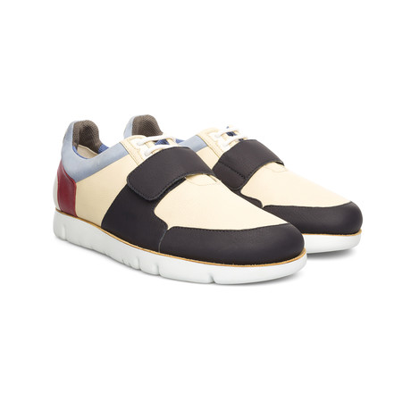 Oruga Low-Top Sneaker // Cream + Black (Euro: 39)