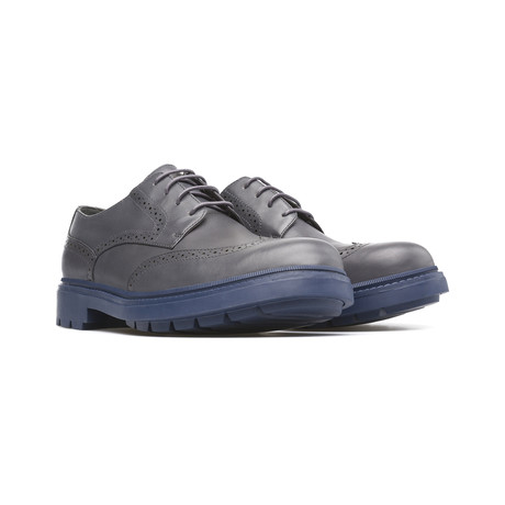 Hardwood Dress Shoes // Dark Gray (Euro: 39)