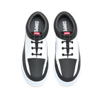 Runner Four Sneakers // White + Black (Euro: 44)