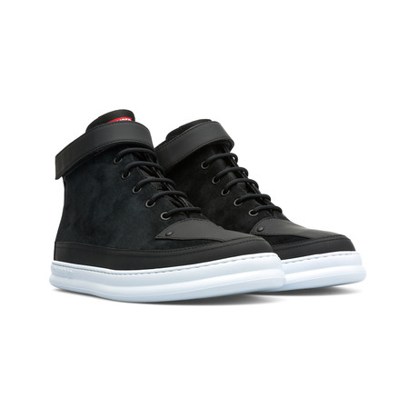 Runner Four High-Top Sneakers // Black (Euro: 39)
