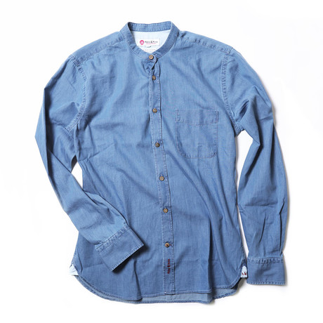 Wehh Shirt // Denim Blue (XS)