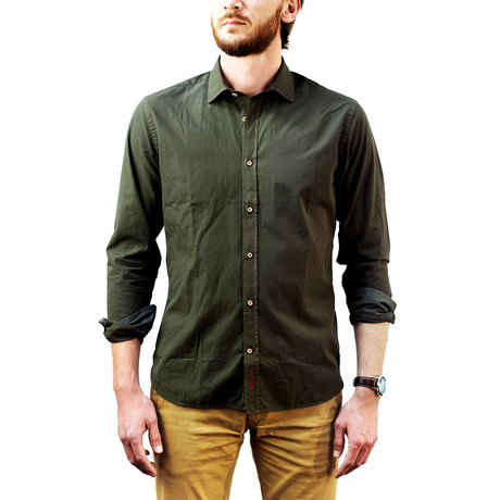 Pask Green Shirt // Green (XS)