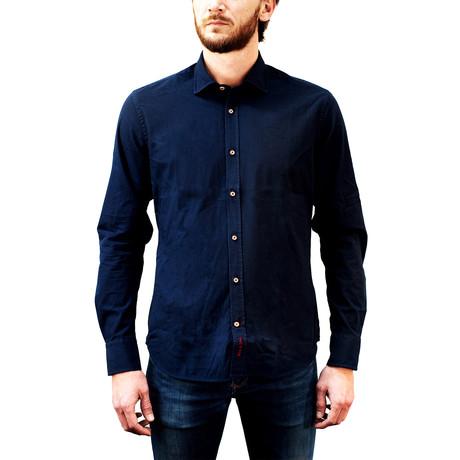 Pask Navy Shirt // Navy (XS)