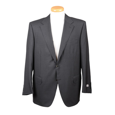 Men's Solid Suit // Charcoal (Euro: 44)