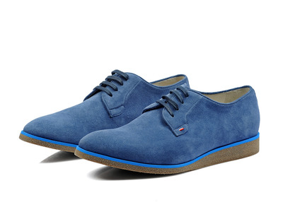 Photo of Canali Immaculate Suits, Shirts, & Shoes Ben Shoe // Blue (Euro: 44) by Touch Of Modern