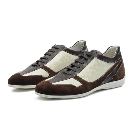 Craig Shoe // Brown + White (Euro: 38)