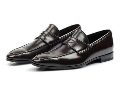 Photo of Canali Immaculate Suits, Shirts, & Shoes Laurie Shoe // White (Euro: 41.5) by Touch Of Modern