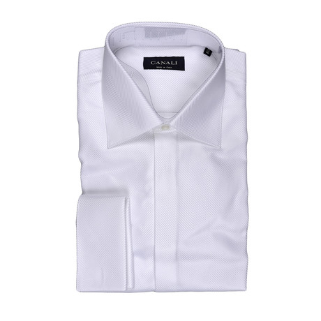 Formal Dress Shirt //White (3XL)