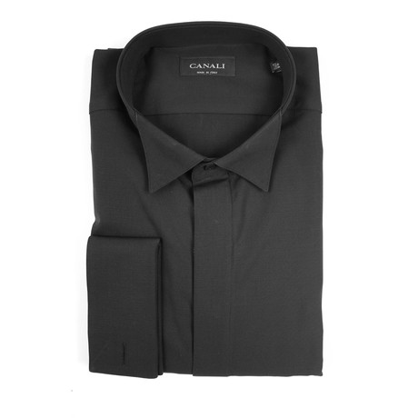 Formal Dress Shirt // Black (3XL)