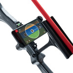 AccuBow // Archery Training Device + Phone Mount (Black + Red)