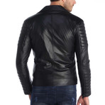 Cyril Leather Jacket // Black (M)
