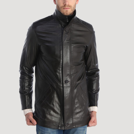 Houston Leather Jacket // Black (XS)