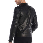 Dallas Leather Jacket // Black (3XL)