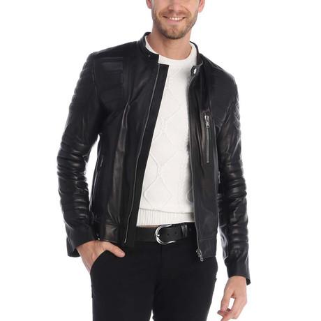 Dallas Leather Jacket // Black (S)