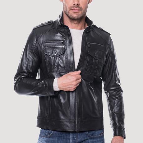 Jack Leather Jacket // Black (XS)