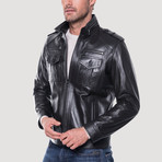 Jack Leather Jacket // Black (M)
