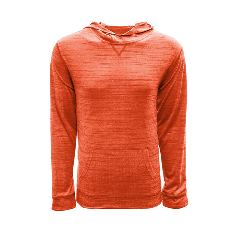 Anchor Hoodie // Heather Orange (S)
