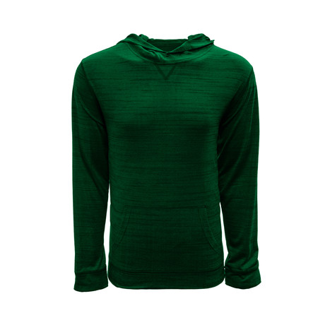 Anchor Hoodie // Heather Rider Green (S)