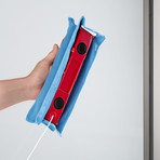 The Glider // Magnetic Window Cleaner (S1 Single-Glaze (Black))