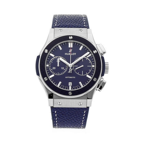 Hublot Classic Fusion New York Giants Chronograph Automatic // 521.NQ.5170.VR.NYG17 // Pre-Owned