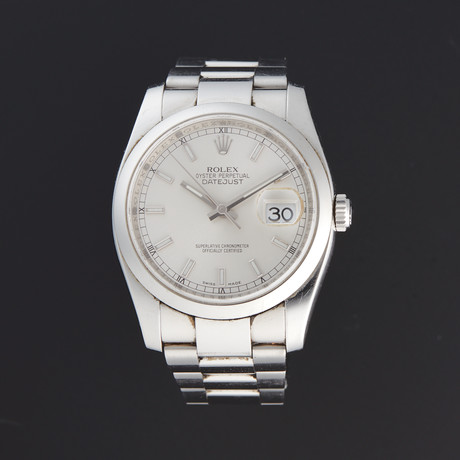 Rolex Datejust 36 Automatic // 116200 // Z Serial // Pre-Owned
