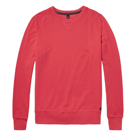 Rowe Pique Sweater // Sunset Red (S)