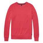 Rowe Pique Sweater // Sunset Red (L)