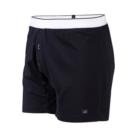Pierce Relaxed Boxer Briefs // Night Blue (S)