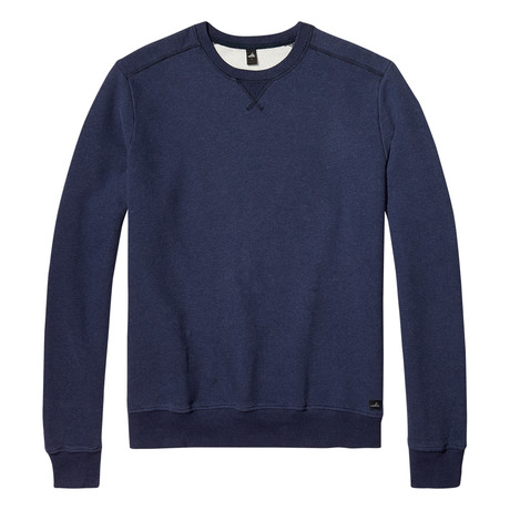 Moore Crewneck Sweater // Dark Marl Blue (S)