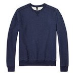 Moore Crewneck Sweater // Dark Marl Blue (M)