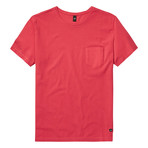 Dean Pique T-Shirt // Sunset Red (2XL)