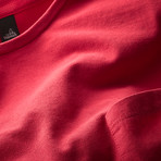 Dean Pique T-Shirt // Sunset Red (S)