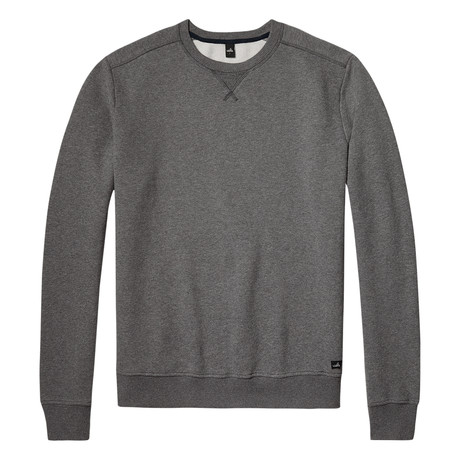 Moore Crewneck Sweater // Mid Marl Grey (S)