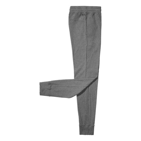 Owens Pique Loungepant // Mid Marl Grey (S)