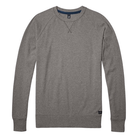 Rowe Pique Sweater // Mid Marl Grey (S)