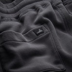 Wade Straight Leg Sweatpants // Anthracite (S)