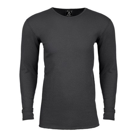 Long Sleeve Thermal Crew Neck // Heavy Metal (S)