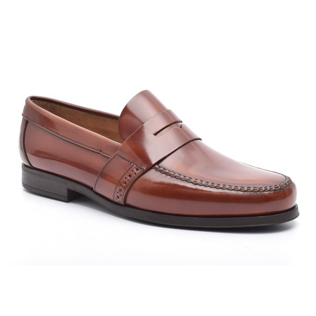 Ayres Leather Sole Moccasin // Leather (Euro: 37)