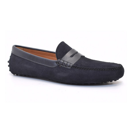 Walker Moccasin // Blue (Euro: 37)