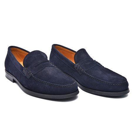 Hill Moccasin // Blue (Euro: 37)