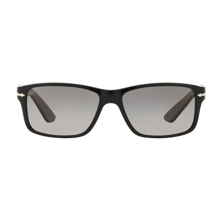 Persol 3154S Sunglasses // Matte Black + Polarized G-15