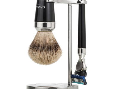Mondial Shaving Artisanal Grooming Products Premium Collection // 3 Piece Set by Touch Of Modern - Denver Outlet