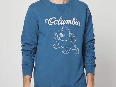 Photo of Vintage 55 Americana Inspired Casual Styles Columbia Sweatshirt // Ensign Blue (S) by Touch Of Modern