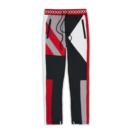 Courtside Track Pant // Red (XS)