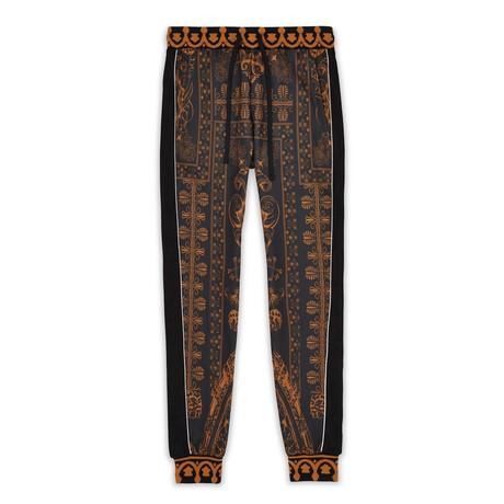 Corinthian Track Pants // Black + Tan (S)