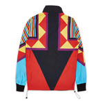 Neo Abstract Track Jacket // Multicolor (2XL)