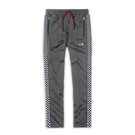Lexington Check Track Pant // Gray (S)